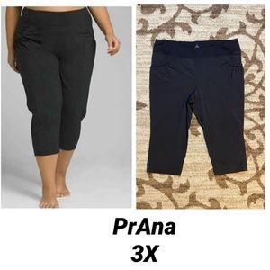 PRANA Womens Plus Summit Capri Pants 3X